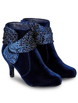 Joe Browns Joe Browns Not So Shy Velvet Boots Picture