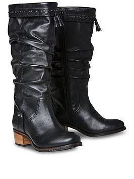 Joe Browns Joe Browns Be Creative Leather Slouch Boots Picture