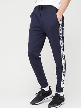 HUGO Hugo Jersey Trousers - Navy/White Picture
