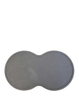 Zoon   Charcoal Rubber Feeding Mat