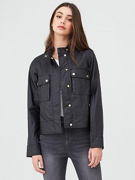 Barbour International   Tracktrace Casual Jacket - Black
