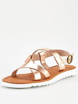 Barbour Barbour Sandside Sandals - Metallic Picture