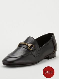 barbour-sofia-chain-flat-shoes-black
