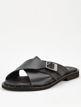Barbour International Barbour International Amari Sandals - Black Picture