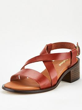 Barbour Barbour Thea Heeled Sandals - Tan Picture