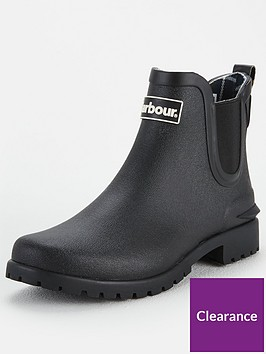 barbour-wilton-ankle-wellies-black