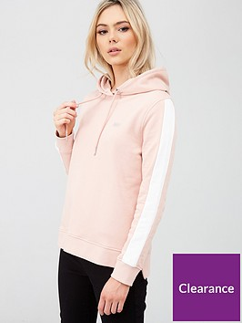 barbour-international-podium-overlayer-hooded-sweatshirt-pink