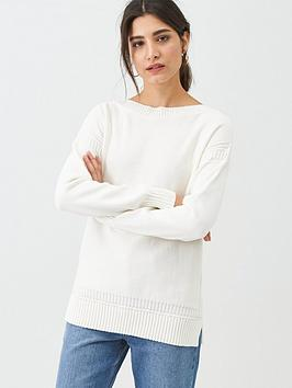 Barbour Barbour Sailboat Knitted Jumper - White Picture