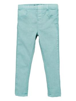 V by Very V By Very Girls Woven Jeggings - Green Picture