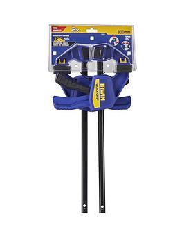 irwin-2-x-quick-grip-medium-load-clamps-300mm