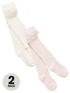 V by Very V By Very Girls 2 Pack Sparkle Tights - Multi Picture