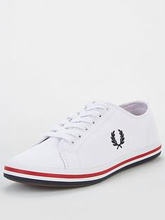 fred-perry-kingston-twill-pump-whitenbsp