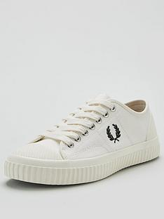 fred-perry-hughes-low-canvas-pump-ecru