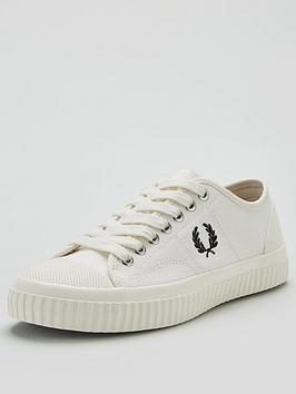 Fred Perry Fred Perry Hughes Low Canvas Pump - Ecru Picture