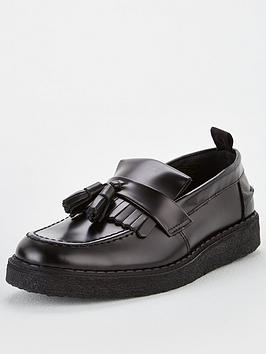 Fred Perry Fred Perry Tassel Loafer - Black Picture
