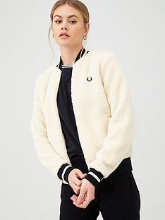 fred-perry-borg-fleece-jacket-ecru