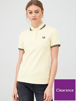 fred-perry-twin-tipped-polo-t-shirt-yellow