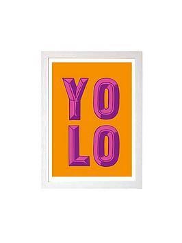 East End Prints East End Prints Yolo A3 Wall Art Picture
