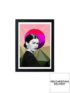 east-end-prints-frida-sunrise-by-studio-cockatoo-a3-framed-wall-art