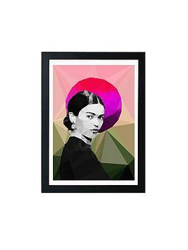 East End Prints East End Prints Frida Sunrise By Studio Cockatoo A3 Framed  ... Picture