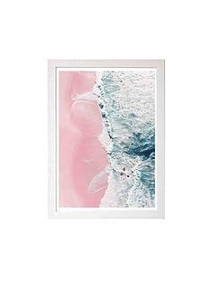 east-end-prints-sea-of-love-ii-by-ingrid-beddoes-a3-framed-wall-art