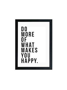 East End Prints East End Prints Do More Of What Makes You Happy By Native  ... Picture