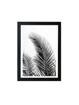 East End Prints East End Prints Palm Leaves By Mareike Boehmer A3 Framed  ... Picture