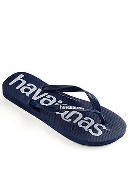 Havaianas Havaianas Logomania Flip Flop - Navy Picture