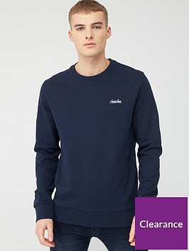 jack-jones-originals-flow-sweat-crew-neck-sweat-top-navy-blazer