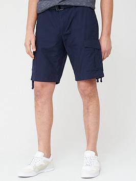 jack & jones Jack & Jones Intelligence Charlie Cargo Shorts - Navy Picture