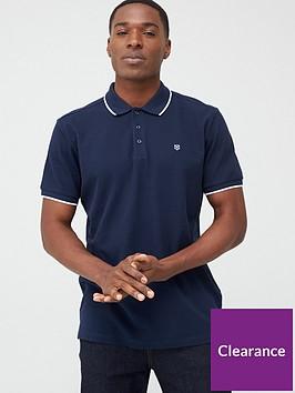jack-jones-premium-axel-tipped-polo-shirt-navy