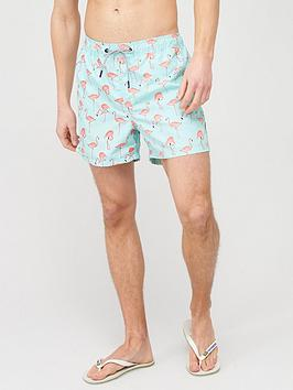 jack & jones Jack & Jones Jeans Intelligence Flamingo Swim Shorts -  ... Picture
