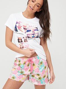 barbie-floral-short-pyjamas-multinbsp