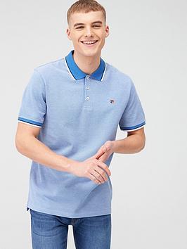 jack & jones Jack & Jones Premium Irwin Polo Shirt - Blue Picture