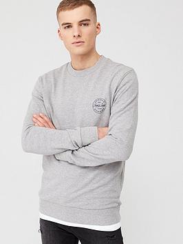jack & jones Jack & Jones Originals Lagmore Small Logo Sweatshirt - Light  ... Picture