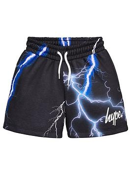 Hype Hype Boys Lightening Jog Shorts - Black Picture