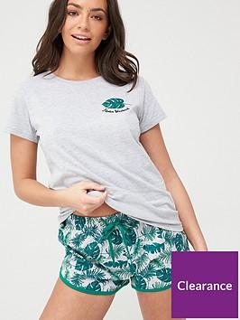 v-by-very-palm-print-shorts-pyjamas-printnbsp