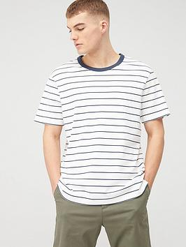 jack & jones Jack & Jones Premium Still Stripe T-Shirt - White
