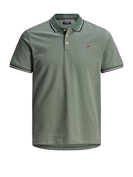 jack & jones Jack & Jones Premium Irwin Polo Shirt - Green Picture