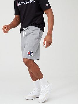 champion-shorts-grey-marl