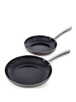 Morphy Richards Morphy Richards 24 And 28 Cm Frying Pan Set Picture