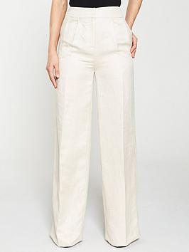 V by Very V By Very Formal Linen Mix Trouser Picture