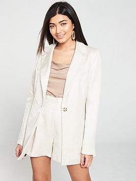 V by Very V By Very Linen Mix Jacket Picture