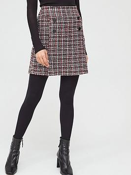 V by Very V By Very Boucle Mini Skirt - Multi Picture