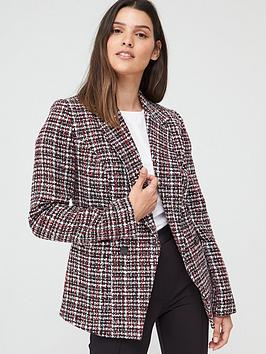 V by Very V By Very Boucle Military Jacket - Multi Picture