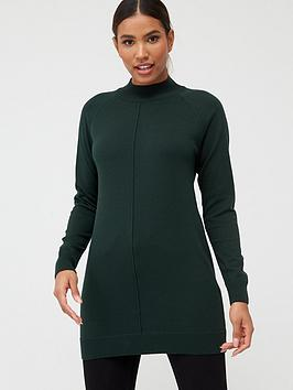 V by Very V By Very Seam Detail Tunic - Forest Green Picture