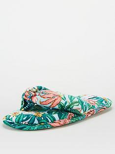 v-by-very-floral-slipper-bag-set-print