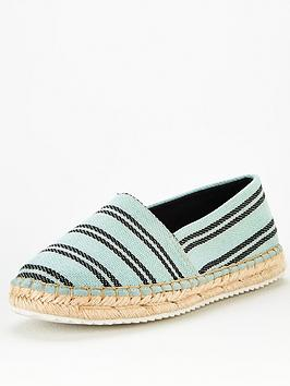 V by Very V By Very Mitten Flat Espadrille - Mint Picture