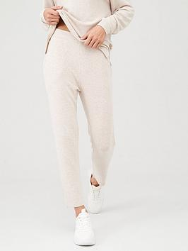 V by Very V By Very Soft Touch Ankle Grazer Jogpants - Oatmeal Picture