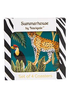 summerhouse-by-navigate-madagascar-cheetah-coasters-ndash-set-of-4